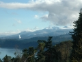 View toward Port Angeles from Striped Peak